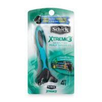 Schick® Xtreme3® 4-Pack Sensitive Disposable Razors with Aloe