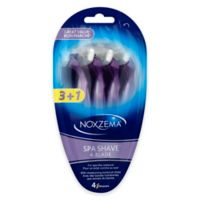 Noxzema 4-Pack Spa Shave 4‑Blade Disposable Razors