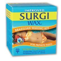 Surgi-Wax 4.8 oz. Brazilian Waxing Kit for Private Parts