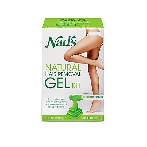 Nad S Natural Hair Removal Gel Kit