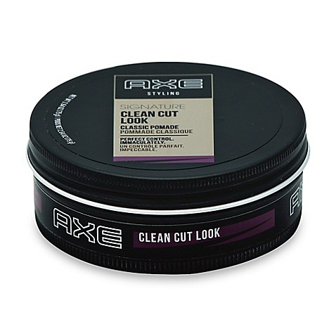 axe hair styling products axe styling 2 64 oz clean cut look classic pomade bed 3992 | 83653216420387p?$478$