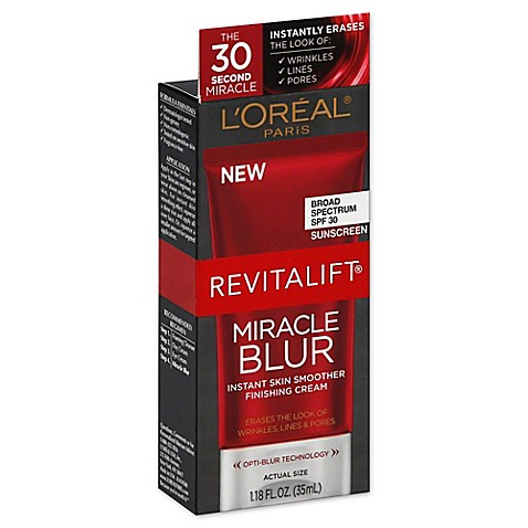 l 39 oreal paris oz revitalift miracle blur instant skin smoother cream for all skin types. Black Bedroom Furniture Sets. Home Design Ideas