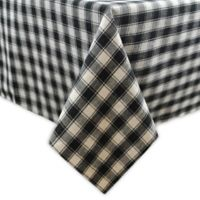 French Check 60-Inch x 84-Inch Tablecloth