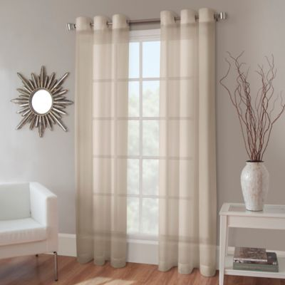 Buy 63 Linen Curtains from Bed Bath & Beyond