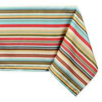Stripe 60-Inch x 120-Inch Tablecloth with Umbrella Hole