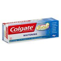 Colgate Total® 6 oz. Whitening Gel Toothpaste