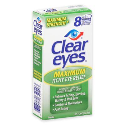 Clear Eyes .5 oz. Maximum Itchy Eye Relief Drops