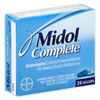 Midol® Complete 24-Count Pain Reliever Diuretic Antihistamine Gelcaps in Maximum Strength