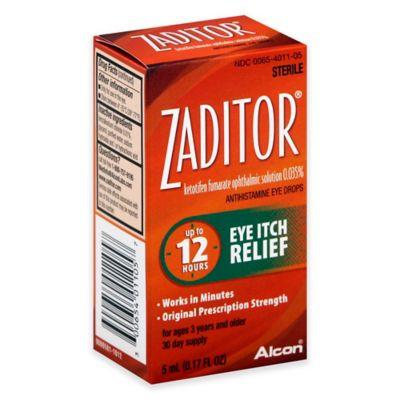 Zaditor 0.17  fl. oz.  Eye Drops