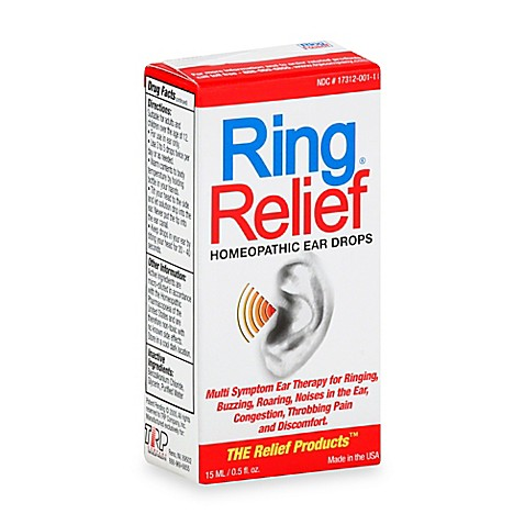 Ear Ringing Relief Drops
