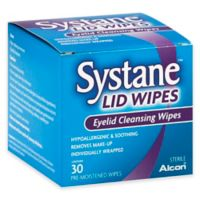 Systane 30-Count Eyelid Wipes