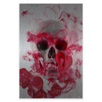 Parvez Taj Skull 2 24-Inch x 36-Inch Aluminum Wall Art