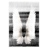Marmont Hill Wings On My Back 20-Inch x 30-Inch Canvas Wall Art