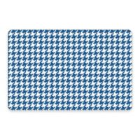 Premium Comfort by Weather Guard™ 22-Inch x 31-Inch Houndstooth Kitchen Mat in Blue/White