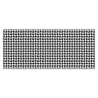 Weather Guard™ 22-Inch x 52-Inch Kitchen Runner in Black/White