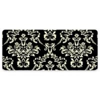 Premium Comfort by Weather Guard™ Damask 22-Inch x 52-Inch Kitchen Mat in Onyx