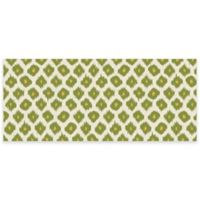 Premium Comfort by Weather Guard™ Ikat 22-Inch x 52-Inch Kitchen Mat in Green