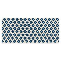 Premium Comfort by Weather Guard™ Ikat 22-Inch x 52-Inch Kitchen Mat in Blue