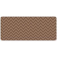 Premium Comfort by Weather Guard™ 22-Inch x 52-Inch Chevron Weave Kitchen Runner in Russet