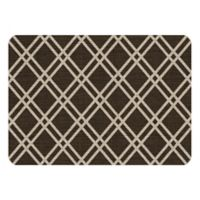 Premium Comfort by Weather Guard™ 22-Inch x 31-Inch Colby Kitchen Mat in Chocolate