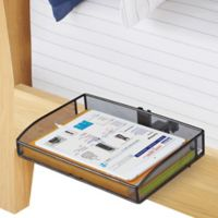 Mesh Clip-On Bunk Shelf in Black