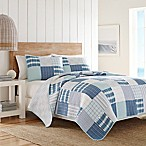 Nautica® Aldrin King Quilt in Bright Blue