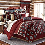 Remington Lodge Cabot California King Comforter Set in Red