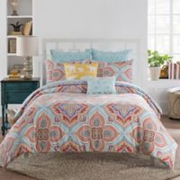 Selma Reversible Full/Queen Duvet Cover Set