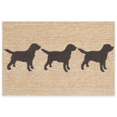 Marvelous Trans Ocean 1 Foot 7 Inch X 5 Foot Front Porch Doggies