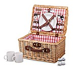 Picnic Time® Catalina Plaid Picnic Basket