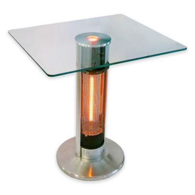 energ hea1575j67l outdoor bistro style heater table