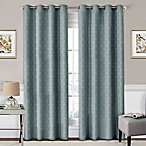 SolarShield® Coleman 63-Inch Grommet Top Room-Darkening Window Curtain Panel in River Blue