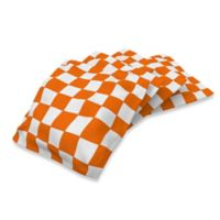 University of Tennessee Duck Cloth Cornhole Bean Bags in White (Set of 4)