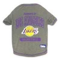 NBA Los Angeles Lakers Medium Pet T-Shirt