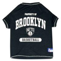 NBA Brooklyn Nets Large Pet T-Shirt