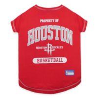 NBA Houston Rockets Medium Pet T-Shirt