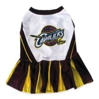 NBA Cleveland Cavaliers X-Small Pet Cheerleader Outfit