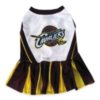 NBA Cleveland Cavaliers Medium Pet Cheerleader Outfit