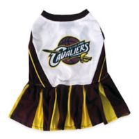 NBA Cleveland Cavaliers Small Pet Cheerleader Outfit