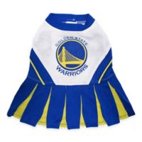 NBA Golden State Warriors X-Small Pet Cheerleader Outfit