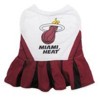 NBA Miami Heat Medium Pet Cheerleader Outfit