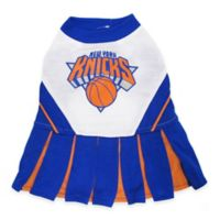 NBA New York Knicks Small Pet Cheerleader Outfit