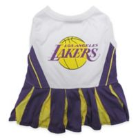 NBA Los Angeles Lakers Small Pet Cheerleader Outfit