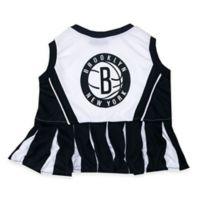 NBA Brooklyn Nets Medium Pet Cheerleader Outfit