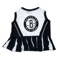 NBA Brooklyn Nets X-Small Pet Cheerleader Outfit