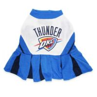 NBA Oklahoma City Thunder Small Pet Cheerleader Outfit
