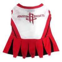 NBA Houston Rockets Medium Pet Cheerleader Outfit