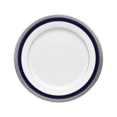 Noritake® Crestwood Cobalt Platinum Dinner Plate  sc 1 st  Bed Bath u0026 Beyond & Buy Cobalt Blue Dinner Plates from Bed Bath u0026 Beyond
