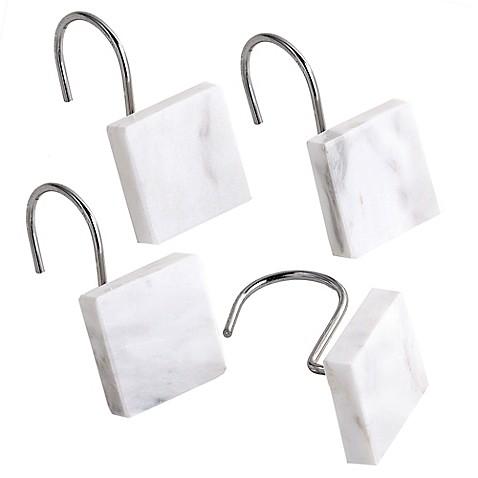 Camarillo Marble Shower Curtain Hooks (Set of 12) - Bed Bath & Beyond