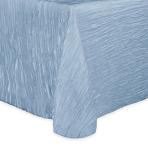 Buy Delano 50 Inch X 90 Inch Oblong Tablecloth In Ice Blue
